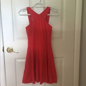 Red Hollister Skater Dress